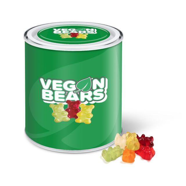 Large Paint Tin – Vegan Bears